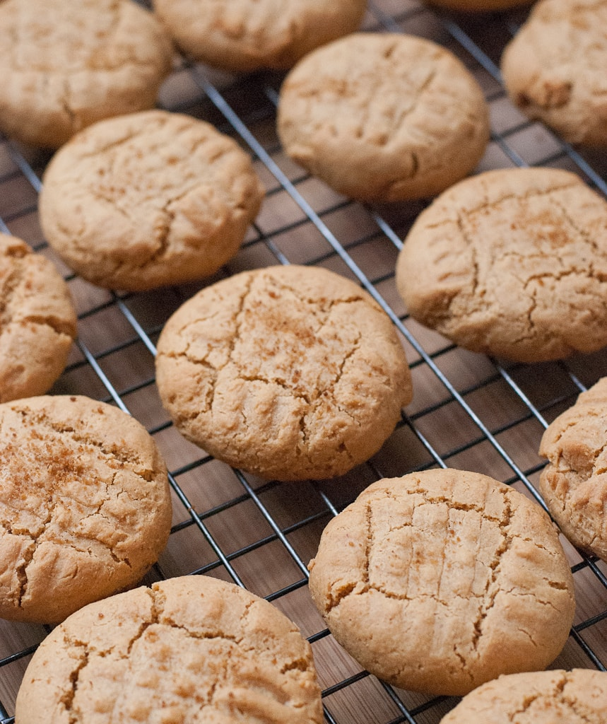 Puffy Coconut Peanut Butter Cookies For National Peanut Butter Day Via PineappleandCoconut (3)