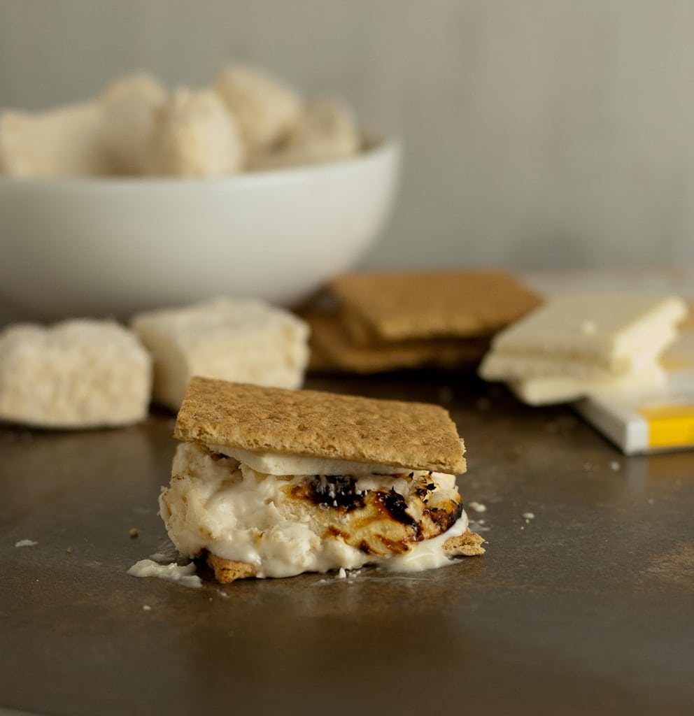 Pina Colada S'mores and Kitchen Aid Giveaway PineappleandCoconut.com #KitchenAid #giveaway #Pinacolada #smores