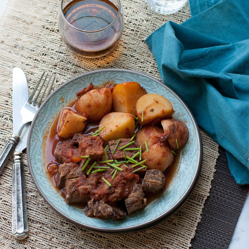 Father's Day Crock Pot Meat and Potatoes #CelebrateDad (14)