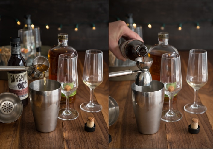 Old Fashioned Champagne Cocktail www.pineappleandcoconut.com