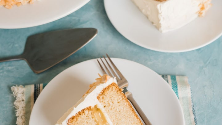 Toasted Coconut Layer Cake