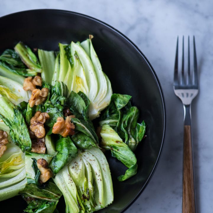 Simple Roasted Baby Bok Choy 2187