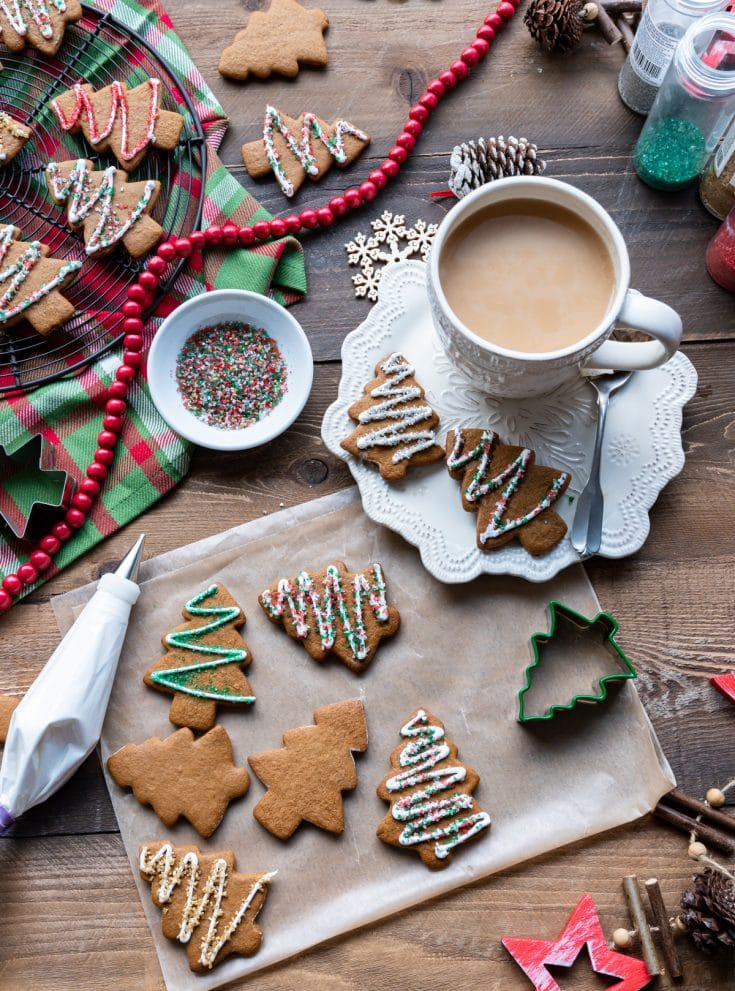 Spiced Gingerbread Cut Out Cookies 8