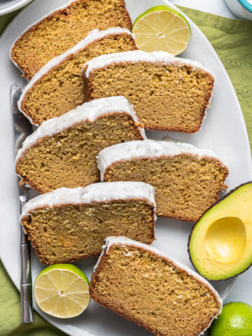 Avocado Bread with Lime Glaze Featured Image 1